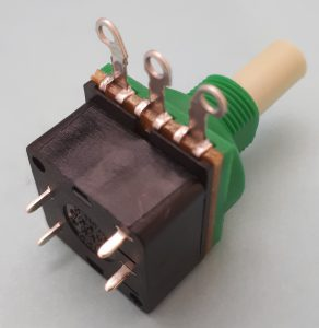 Eco Double Pole 1 Amp Rotary Switch Potentiometer