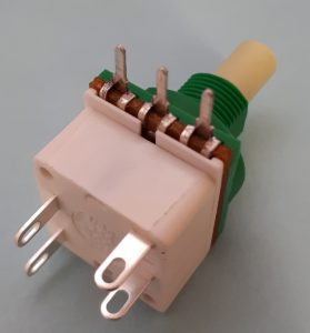 Eco Double Pole 4 Amp Rotary Switch Potentiometer