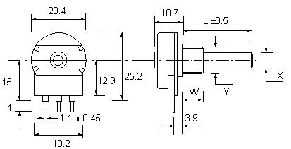 Potentiometer Switch