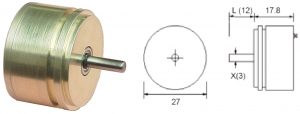 CP11 Servo Potentiometer and dimensions