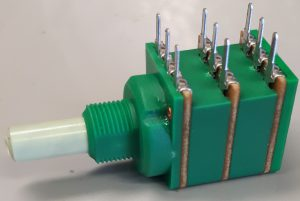 Eco 3 gang potentiometer