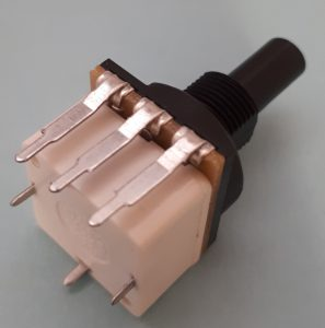 Push Activated switched Potentiometer