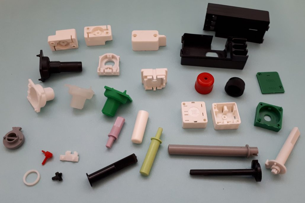A Selection of Injection Moulded Parts