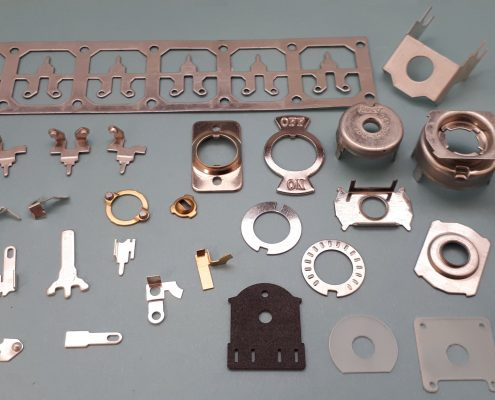 A Selection of Pressed or Stamped parts